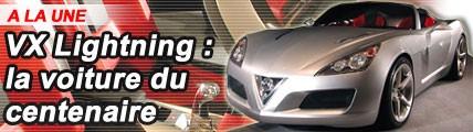 VX Lightning : la voiture du centenaire