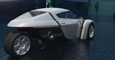 ZAP Alias : la sportive électrique à trois roues