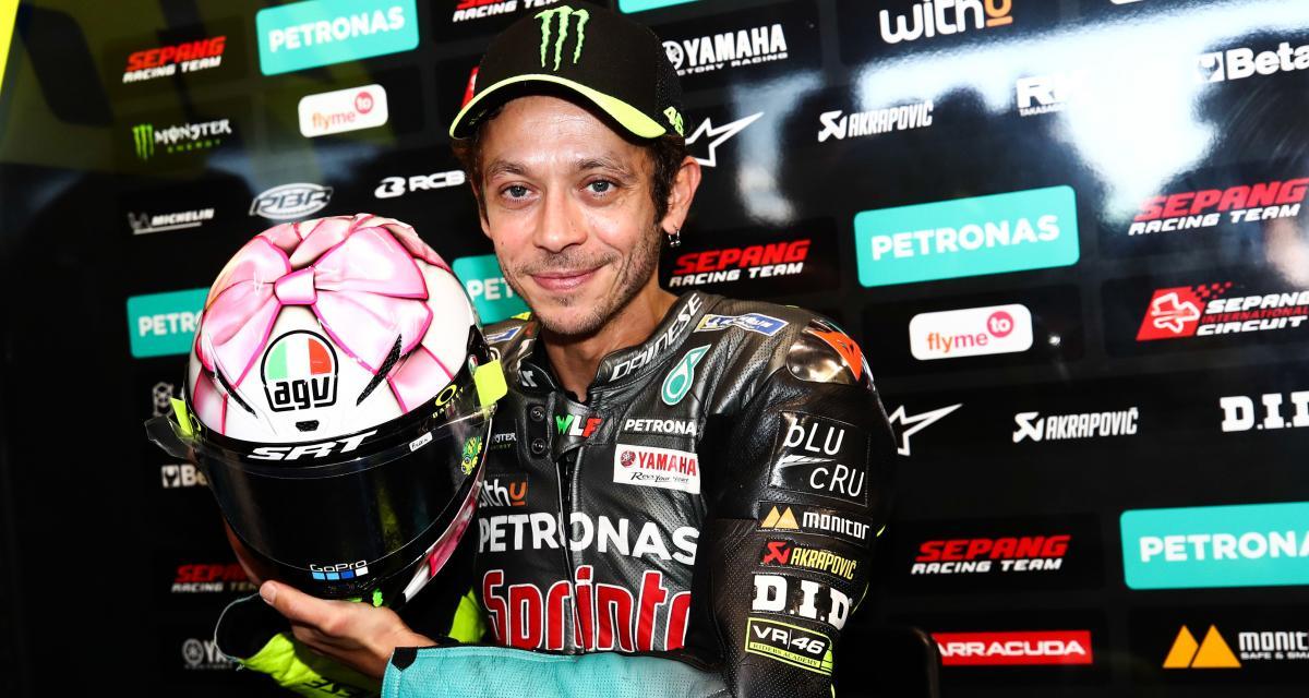 MotoGP : le nouveau casque de Valentino Rossi en images