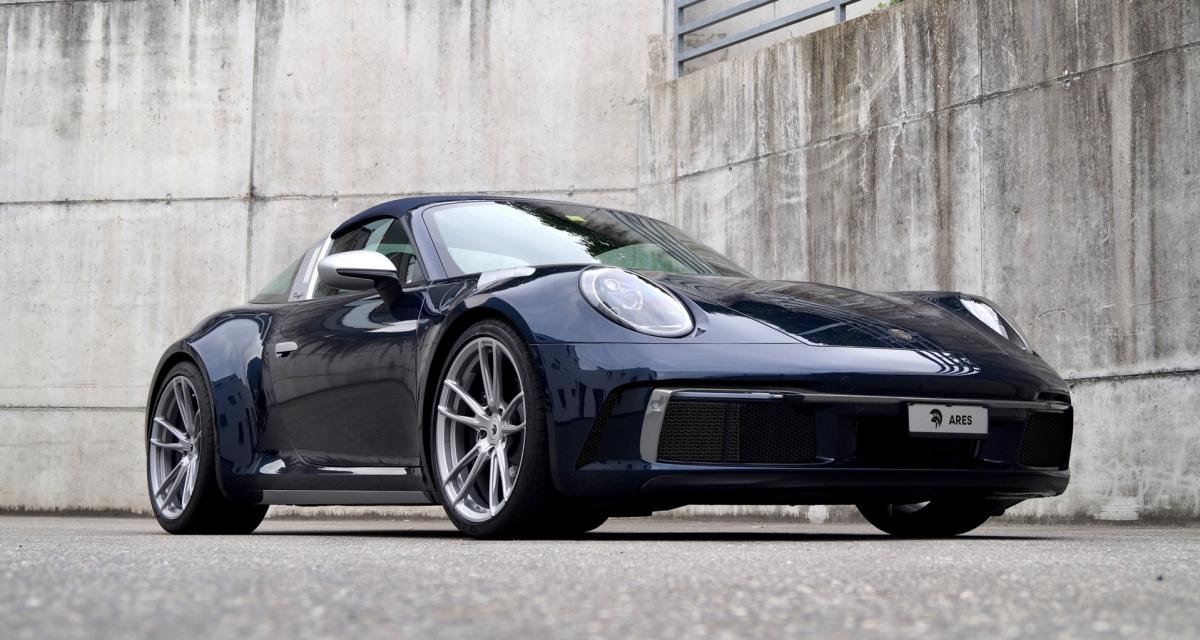 """Regarder la vidéo Porsche 992 Targa by Ares Design : le """"Turbo Look"""" mis au goût du jour"""