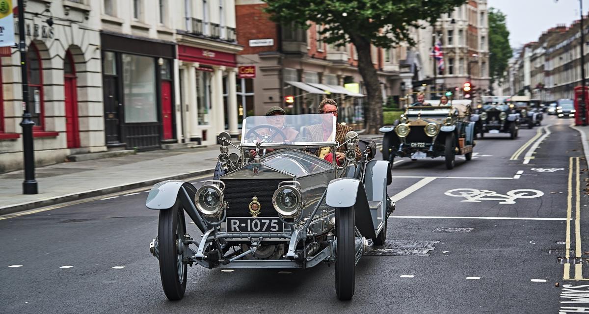 Près de 1300 km en 2 jours pour cette Rolls-Royce Silver Ghost de 1911