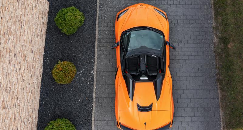 Prices of the Chevrolet Corvette C8 in France