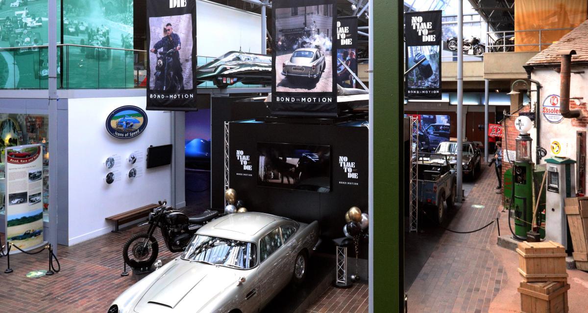 Plongez au cœur de l'exposition Bond in Motion - No Time to Die en 16 photos
