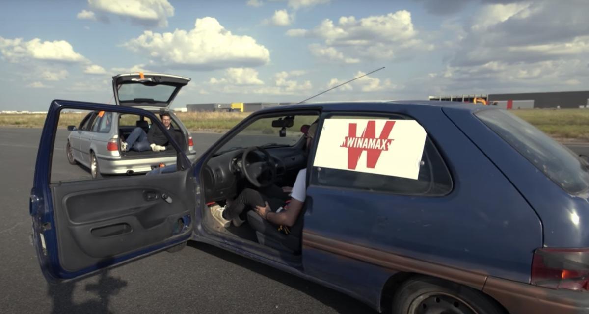 VIDEO - Que se passe-t-il si vous passez la marche arrière à 130 km/h ? Ces Youtubeurs français l'ont fait pour vous