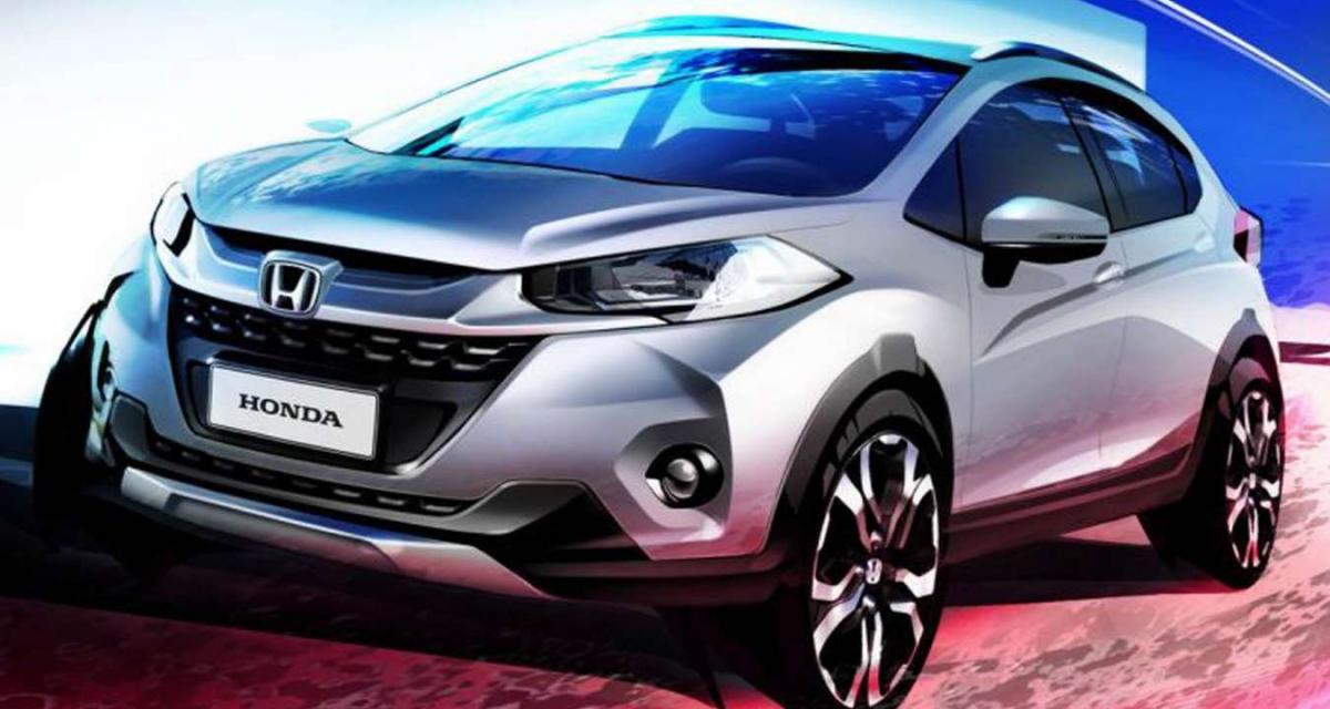 WR-V : Un nouveau crossover se prépare chez Honda