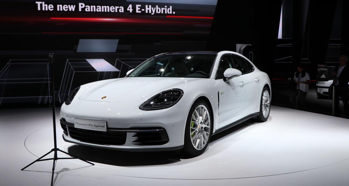 En direct du Mondial de l'Auto : Porsche Panamera II