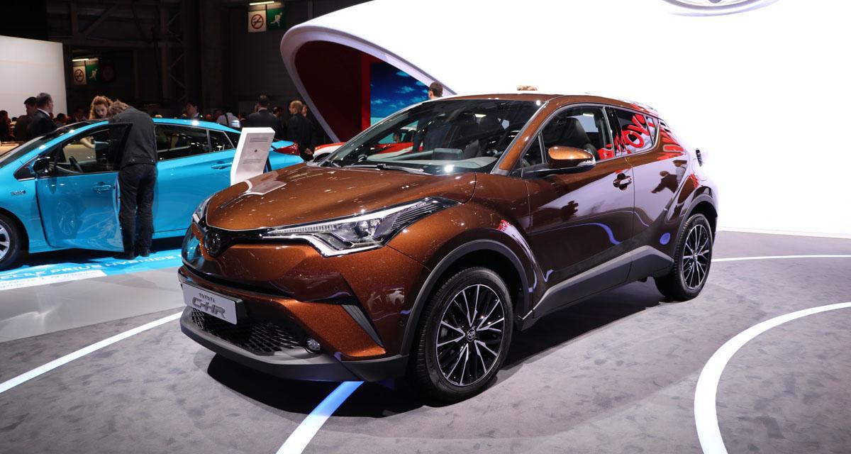 En direct du Mondial de l'Auto : Toyota C-HR