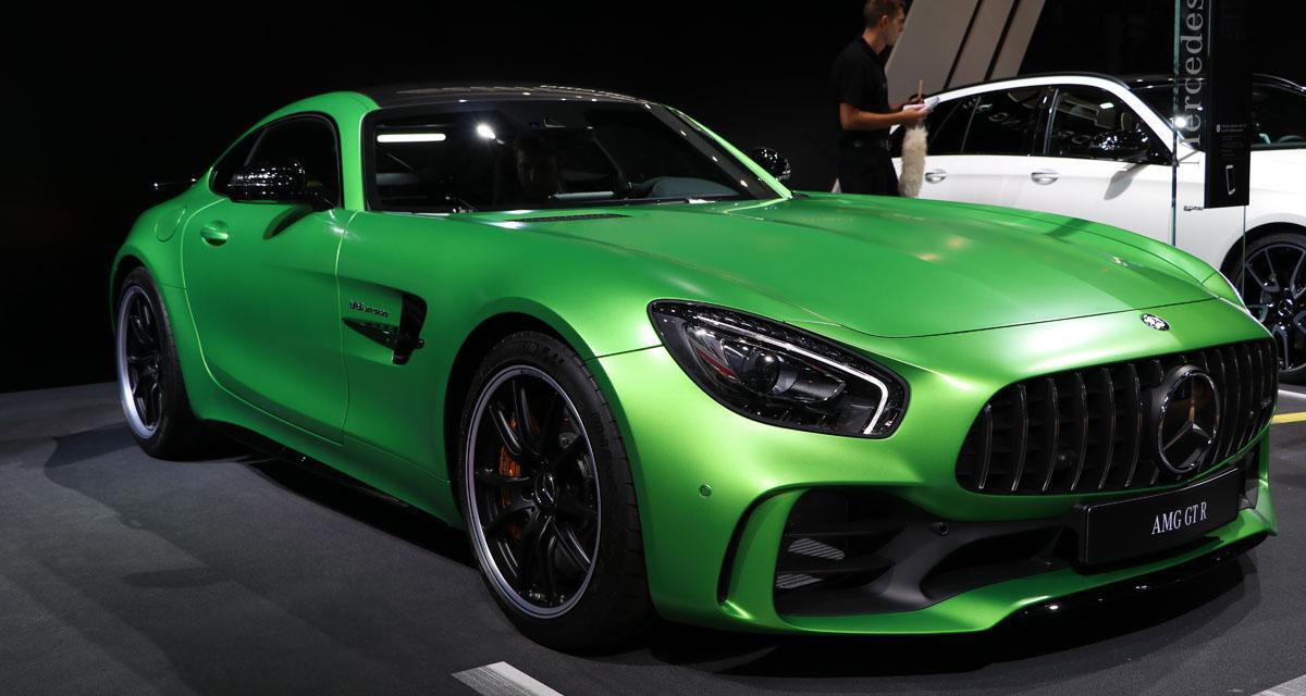 Mondial de l'Auto en direct : Mercedes-AMG GT R