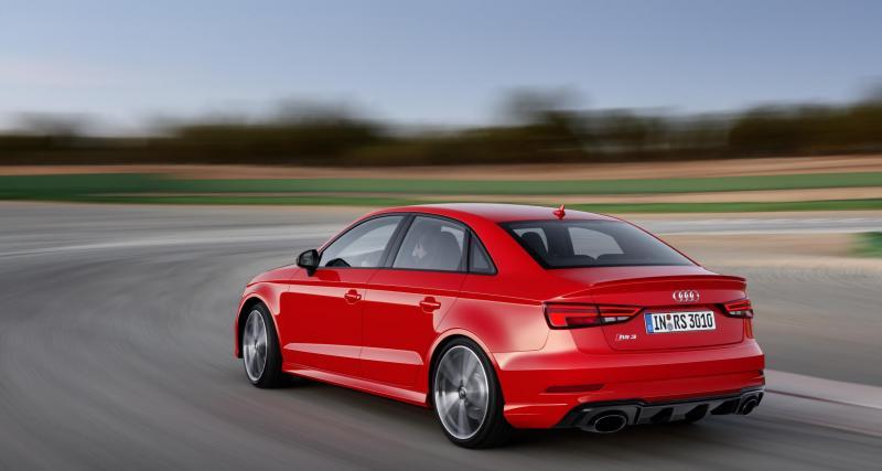 Mondial de l'Auto 2016 : Audi RS 3 Berline