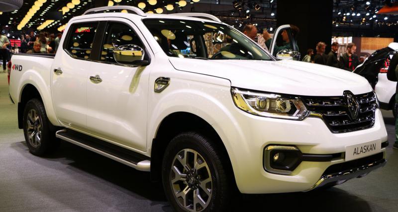 En direct du Mondial de l'Auto : Renault Alaskan
