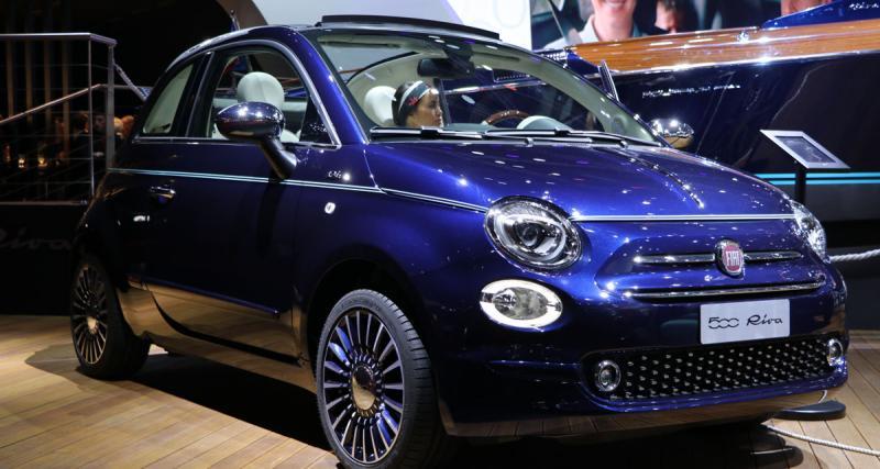 En direct du Mondial de l'Auto : Fiat 500 Riva