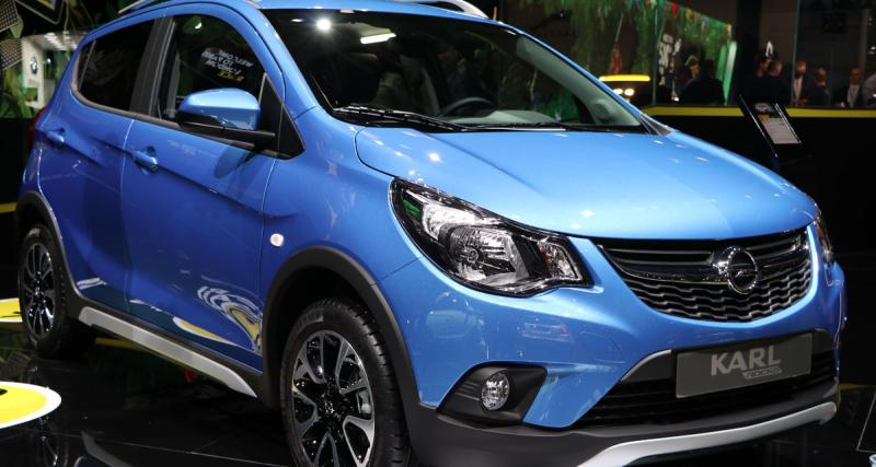 En direct du Mondial de l'Auto : Opel Karl Rocks