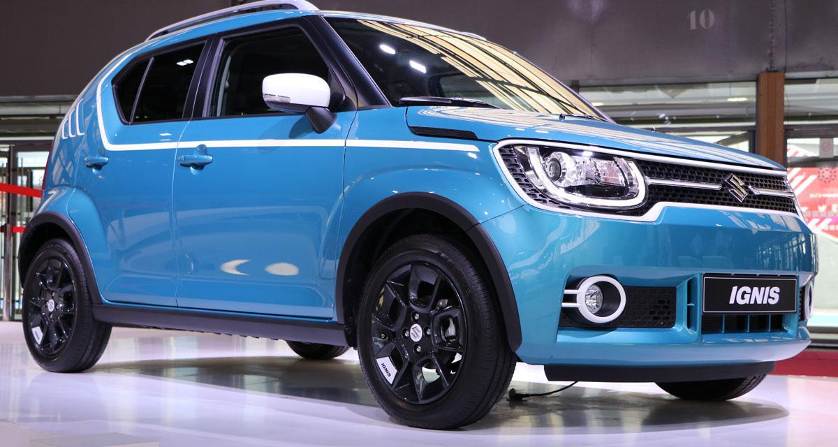 Mondial de l'Auto en direct : Suzuki Ignis
