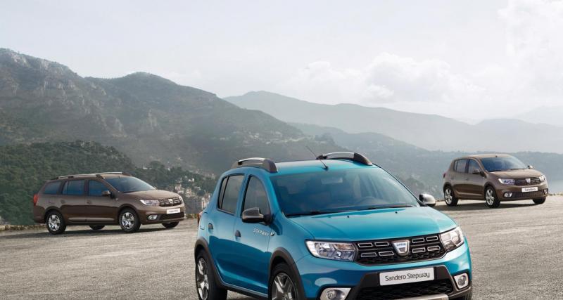 Mondial de l'Auto 2016 : Dacia Sandero et Logan restylées