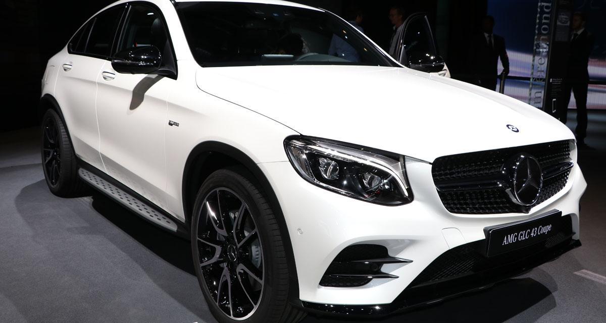 Mondial de l'Auto en direct : Mercedes-AMG GLC 43 Coupé