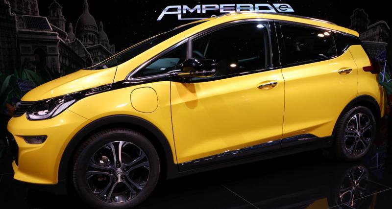 En direct du Mondial de l'Auto : Opel Ampera e