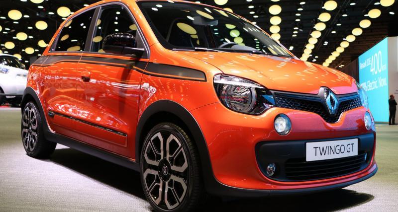 En direct du Mondial de l'Auto : Renault Twingo GT