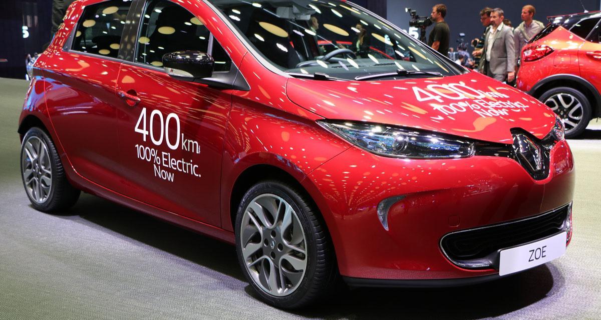 En direct du Mondial de l'Auto : Renault Zoe Long Range