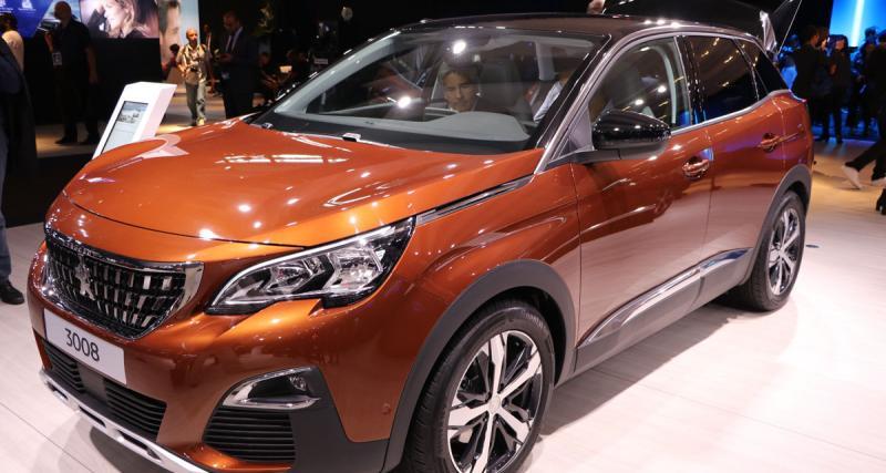 Mondial de l'Auto en direct : nouveau Peugeot 3008