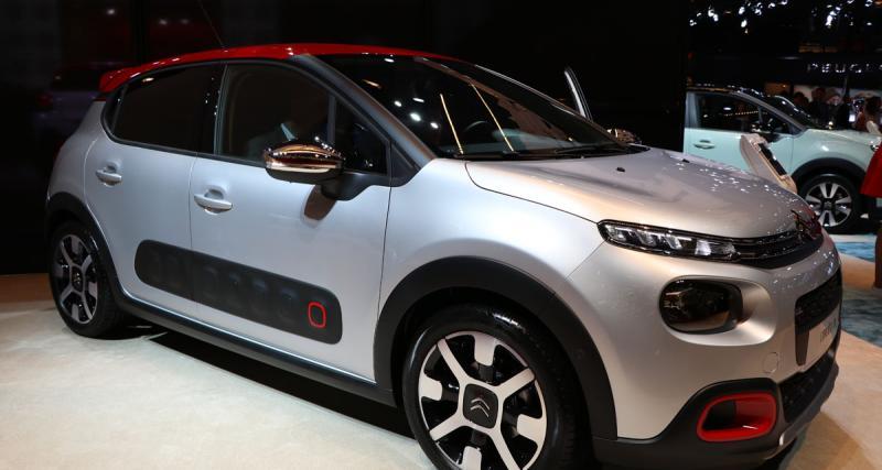 Mondial de l'Auto 2016 en direct : nouvelle Citroën C3