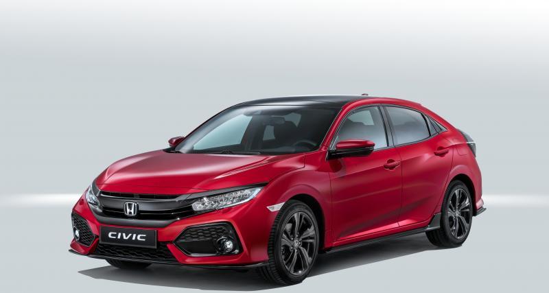 Mondial de l'Auto 2016 : la nouvelle Honda Civic se dévoile