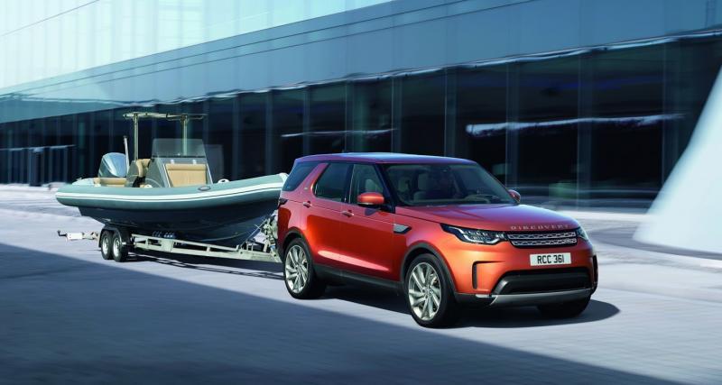 Mondial de l'Auto 2016 : Land Rover Discovery