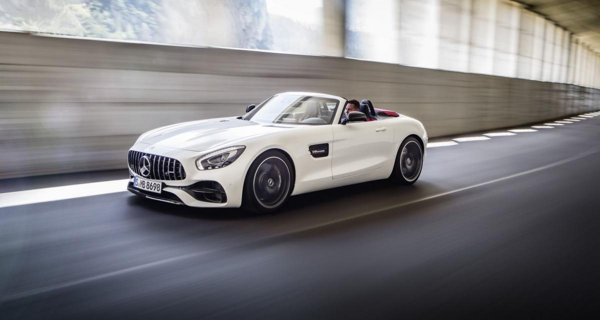 mondial de l 39 auto 2016 mercedes amg gt roadster. Black Bedroom Furniture Sets. Home Design Ideas