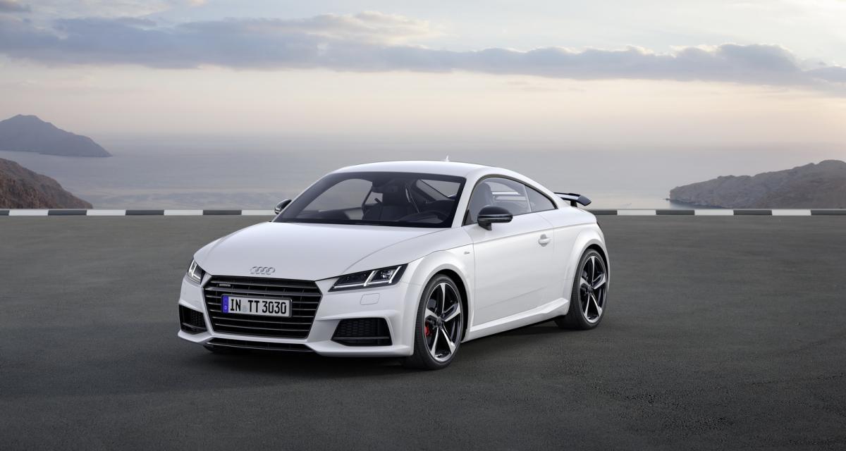 Mondial de l'Auto 2016 : Audi TT S Line Competition