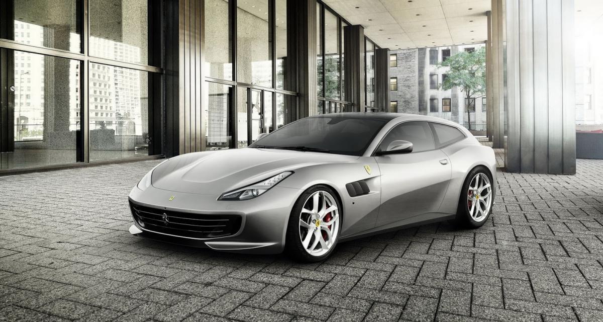 Mondial de l'Auto 2016 : Ferrari GTC4 Lusso T