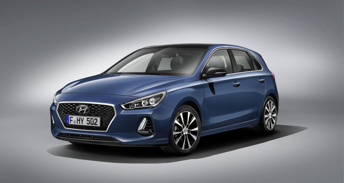Hyundai i30 2017 : de nouvelles cartes en main