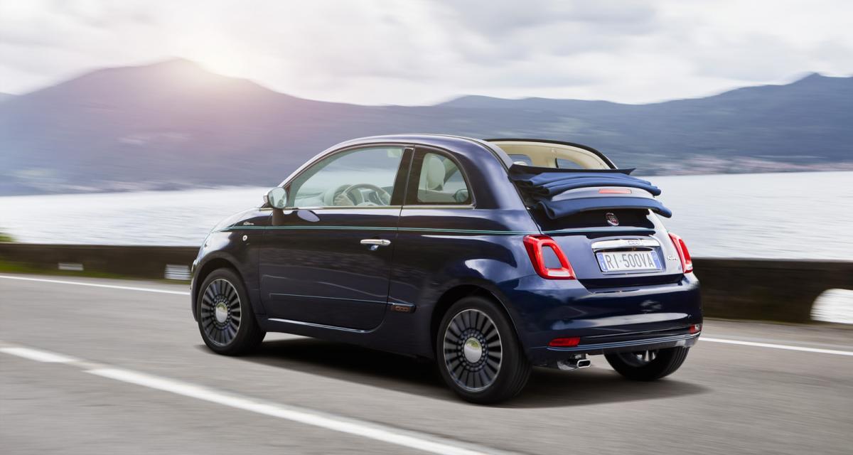 Fiat 500 Riva : inspiration nautique