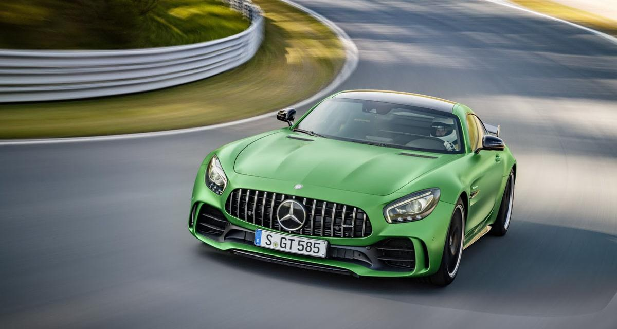 Mercedes-AMG GT R : mise au vert