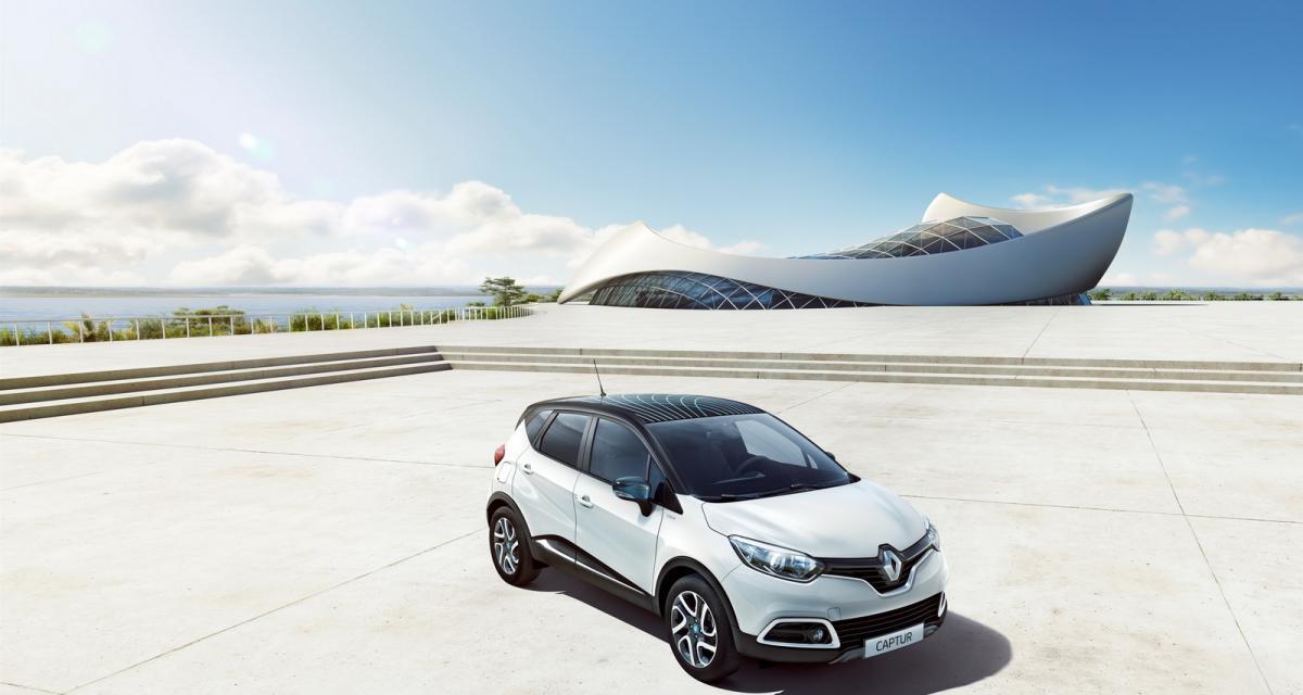 Renault surfe sur le succès du Captur avec une série spéciale Wave