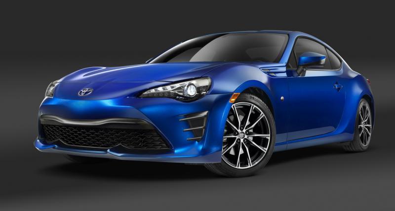 Toyota GT86 restylée : les tarifs