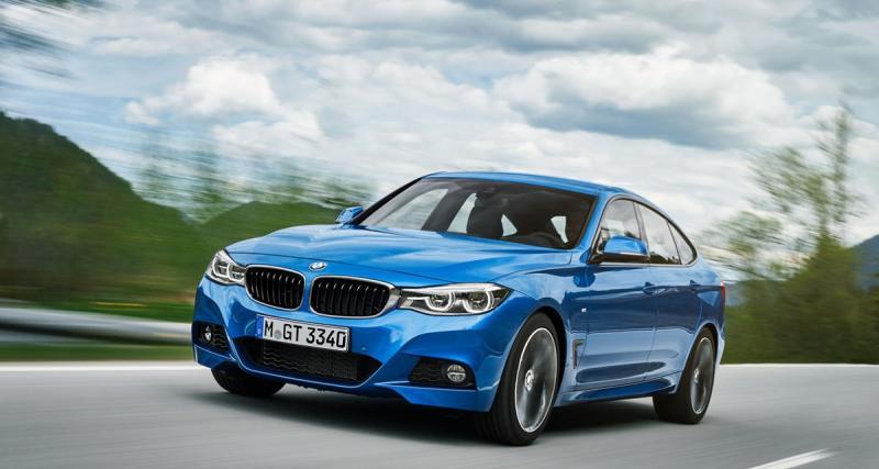 BMW Série 3 Gran Turismo : restylage de principe
