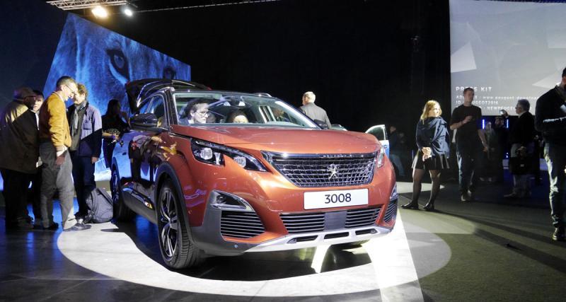 Nouveau Peugeot 3008 : premier contact