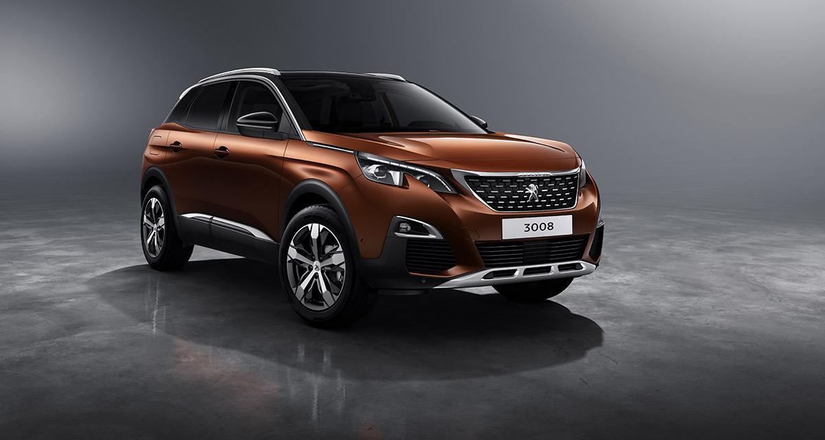 Nouveau Peugeot 3008 : les photos et les infos