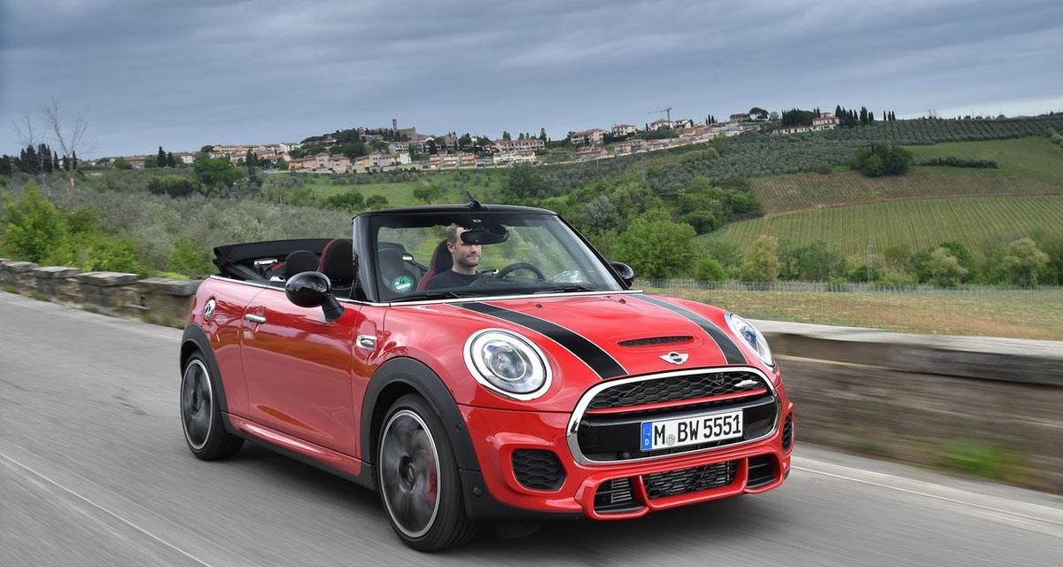 mini john cooper works cabrio bouriffante. Black Bedroom Furniture Sets. Home Design Ideas