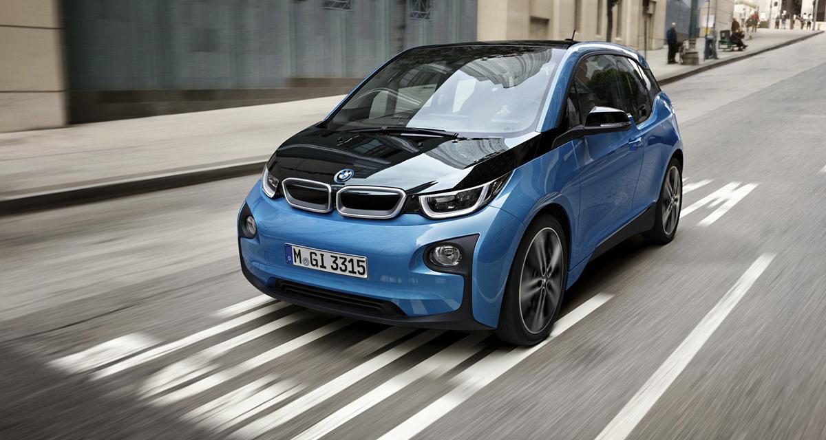 BMW i3 2017 : autonomie en hausse