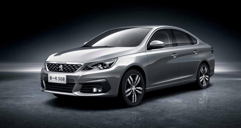 Peugeot 308 Sedan : une malle pour la Chine