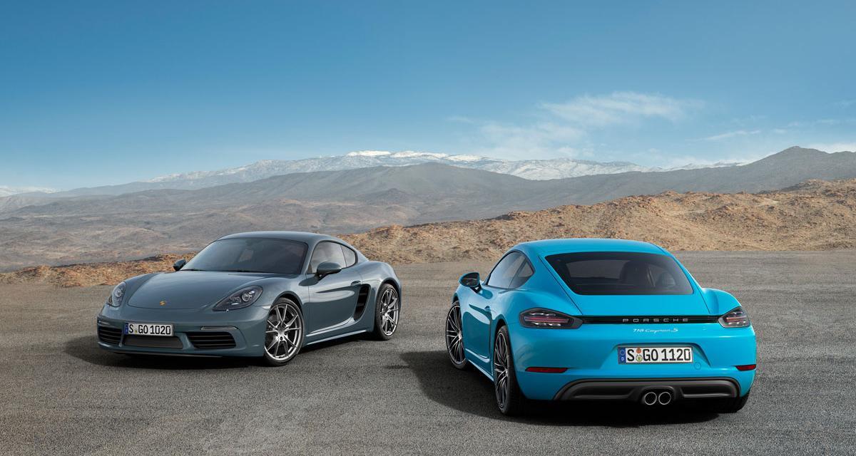 Porsche 718 Cayman : la révolte des boxer