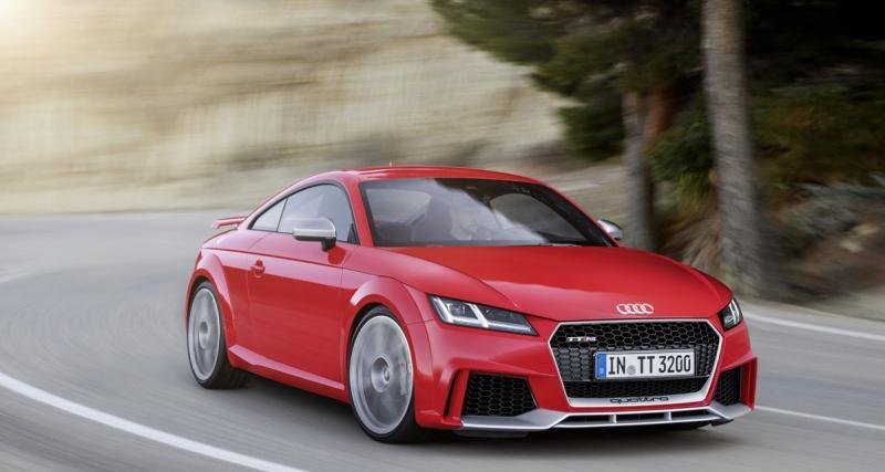 400 ch pour l'Audi TT RS 2016