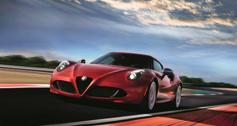 Alfa Romeo 4C Limited Edition : cuore sempre sportivo