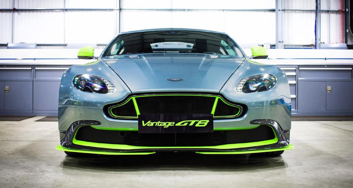 Aston Martin Vantage GT8 : la V8 Vantage se rebiffe