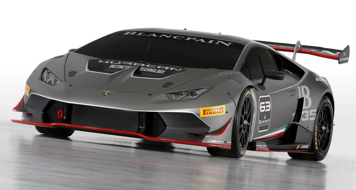 Lamborghini Huracan Superleggera : en approche