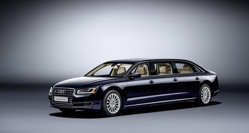 Audi A8 L Extended : limousine XXL