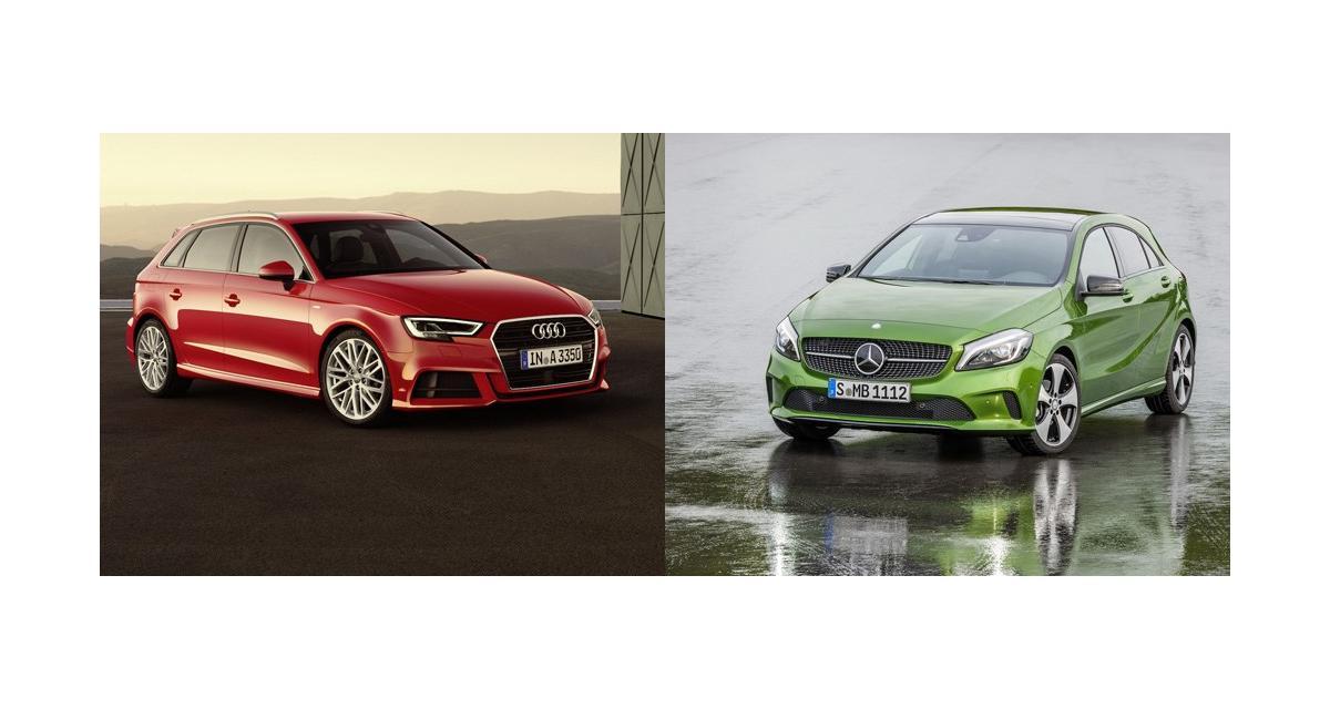 Audi A3 restylée contre Mercedes Classe A : match retour