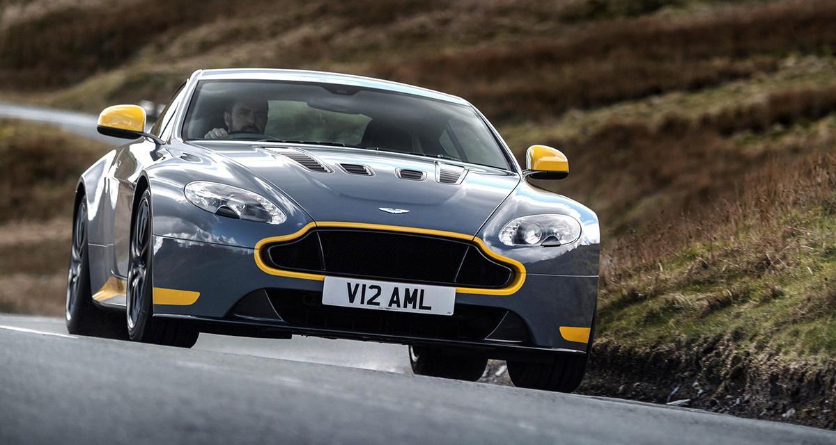 L'Aston Martin V12 Vantage S désormais disponible en boîte manuelle