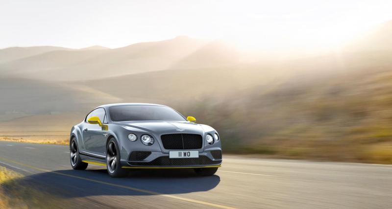 """Bentley Continental GT Speed Black Edition : la """"Conti"""" ultime"""