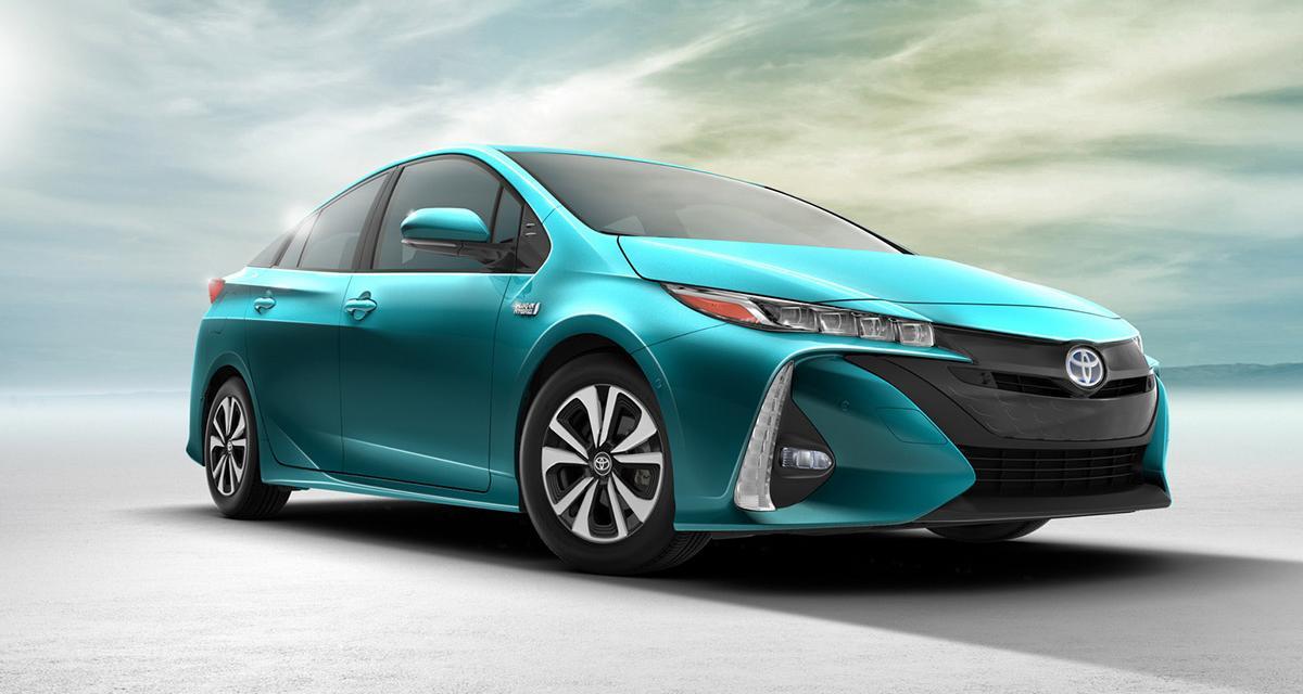 Nouvelle Toyota Prius rechargeable : encore plus verte